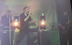 dark edge band first gig