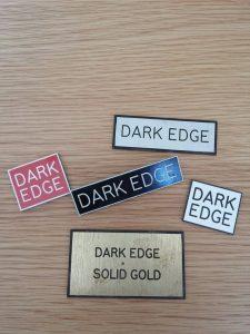 dark edge badges