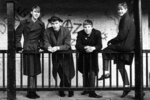 dark edge early band music